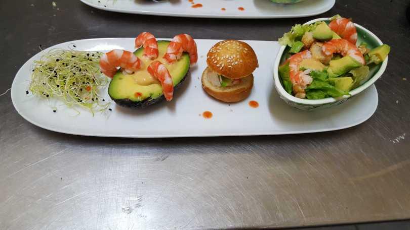 Avocats Crevettes